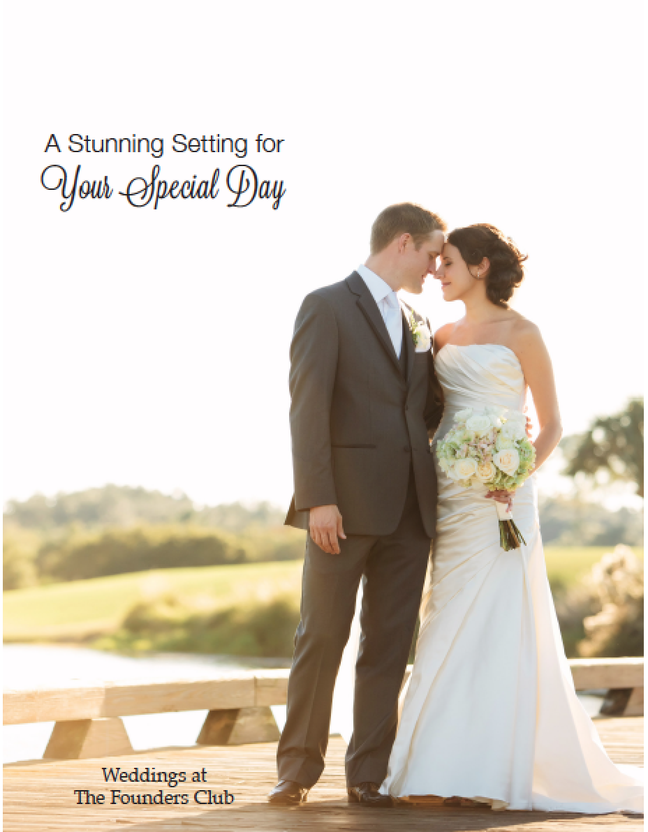 FOUNDERS CLUB WEDDING COVER